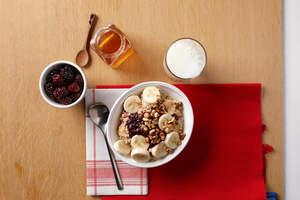Blackberry-Hazelnut Power Bowl