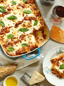 Lasagna with Lamb Ragu