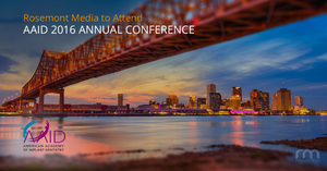 Rosemont Media Will Exhibit at the 2016 AAID Annual Conference