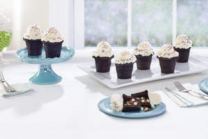 Brownie Cake Cones