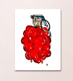 The Cherry Bomb! image is part of the larger series, Sweet Blasts!