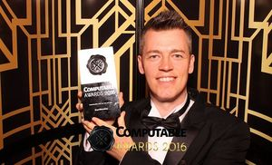 StartMonday CEO Ray Gibson at the Computable Awards - Photo: StartMonday
