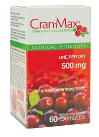 clinically studied Cran-Max cranberry ingredient