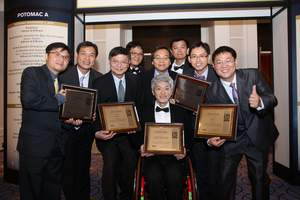 ITRI received five 2016 R&D 100 Awards on November 3 in Oxon Hill, Maryland (Washington DC).