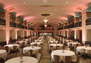 Historic hotel meeting rooms