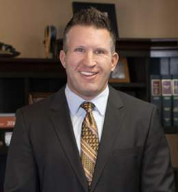 headshot of Colorado workers' compensation attorney Mack Babcock