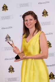 Axis Capital's Malia K. Du Mont Wins Bronze Stevie Award for Female Executive of the Year