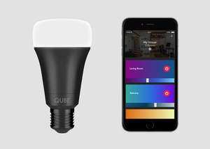 Smart Bulb, Qube Smart Light Bulb, Smart Light Strip, Smart Home