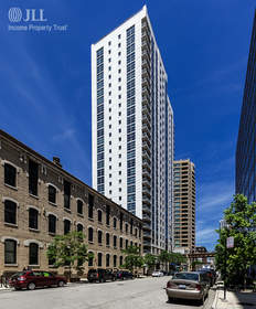 JLL Income Property Trust announced the acquisition of 180 North Jefferson Street, a 28-story, 274-unit premier apartment tower in Chicago's dynamic West Loop.