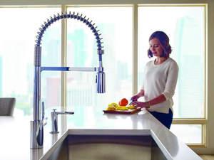Moen Align Spring Kitchen Faucet