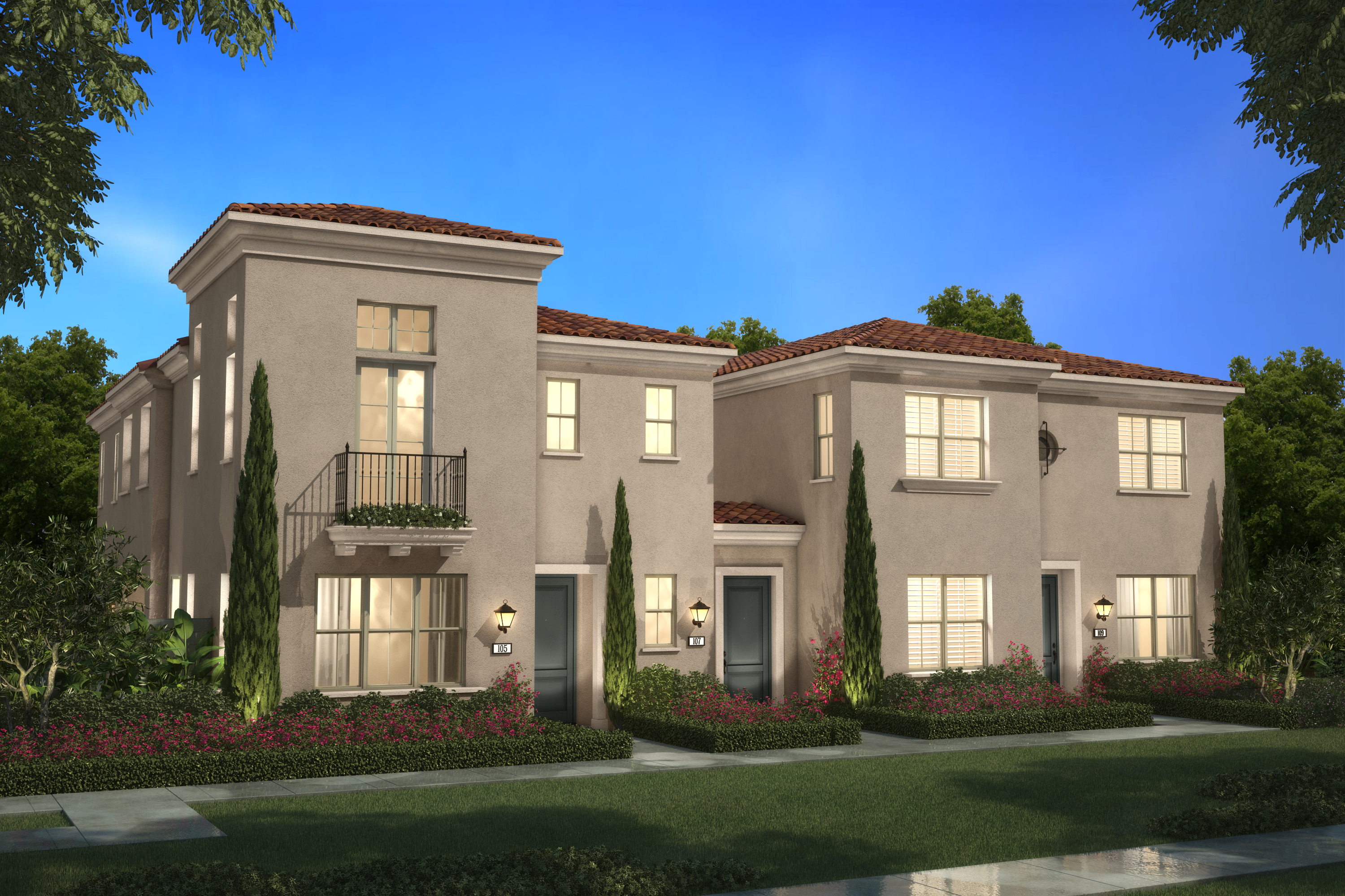 Brookfield Residential Introduces Delano Townhome