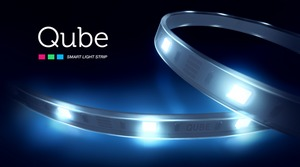 smart light strip, smart bulb, smart home, IoT, CES, Qube