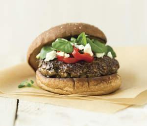 Mighty Mushroom Blended Burger