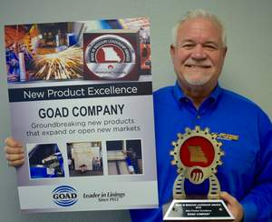 GOAD wins the 2016 New Product Excellence Award