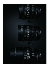 Sigma Cine High Speed Zoom Line