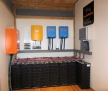 The 55 kWh Aspen battery system stores solar energy and discharges it on demand