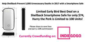 Indiegogo Crowdfunding Campaign Seeks to Prevent over 3,000 Deaths and 1.6 Million Accidents with New Smartphone Safes that Completely Eliminate the Phone as a Distractio