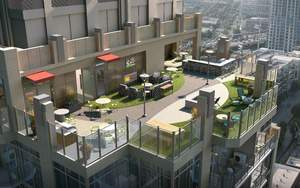 Sky-high amenities at Victory Place in Dallas