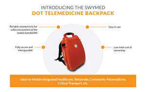 swyMed DOT Telemedicine Backpack