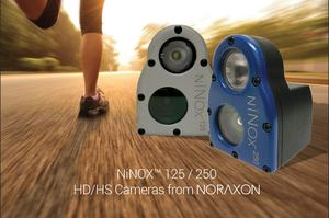 NiNOX 125/250 HC/HS Cameras for biomechanics research by Noraxon.