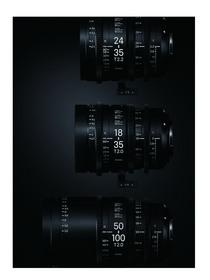 Sigma Cine Zoom Lens Line