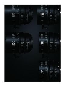 Sigma Cine FF High Speed Prime Lens Line