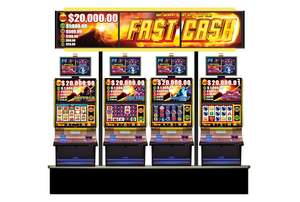 Aristocrat's Game-changing Fast Cash Wide Area Progressive Slot Product Now Racing Across the United States