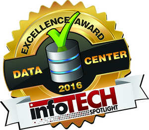 2016 InfoTech Spotlight Data Center Excellence Award
