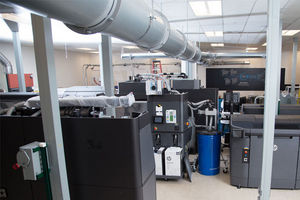 World's first 3D Open Materials and Applications Lab at HP Corvallis