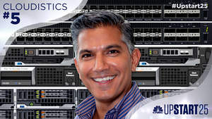 CNBC names Cloudistics to its first-ever Upstart 25 of promising startups.