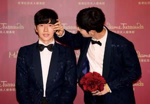 Park Hae-jin unveils his wax figure