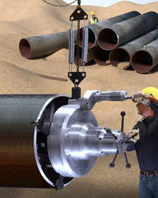 Terminator MILLHOG(R) Pipe Beveling Tool
