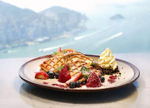 Cafe 100 offers views with cultural fusion of foods and flavours created by the hotel's expert team