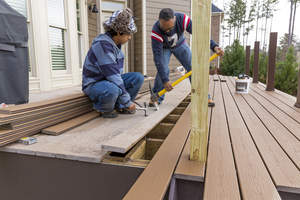 Remove Old Deck Boards