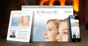 New Responsive Website Announced for Fort Worth Plastic Surgeon