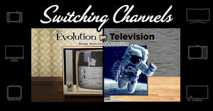 Evolution of Television Infographic Header