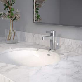 La nouvelle collection pour salle de bain Vichy(MC) de Moen® offre une allure apaisante et contemporaine à un coût économique, des caractéristiques intéressantes pour une grande diversité de clients, tout spécialement ceux vivant en milieux d'habitation multifamiliale ou d'hébergement.