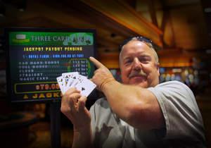 Barona Resort & Casino Progressive Jackpot winner David W.