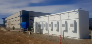 Four Younicos Y.Cubes are an integral part of an energy storage-enabled microgrid at Pena Station NEXT, a transit-oriented smart and sustainable development in Denver.