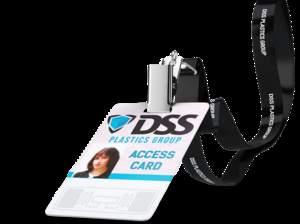 DSS Plastics Group/Alien RFID Lanyard