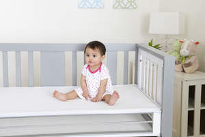 crib mattress, mattress, crib, baby gear, juvenile products, JPMA, baby trend