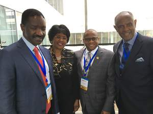 CBIS with Africa Union Ambassador & Honourable Minister of Health, Republic of Namibia