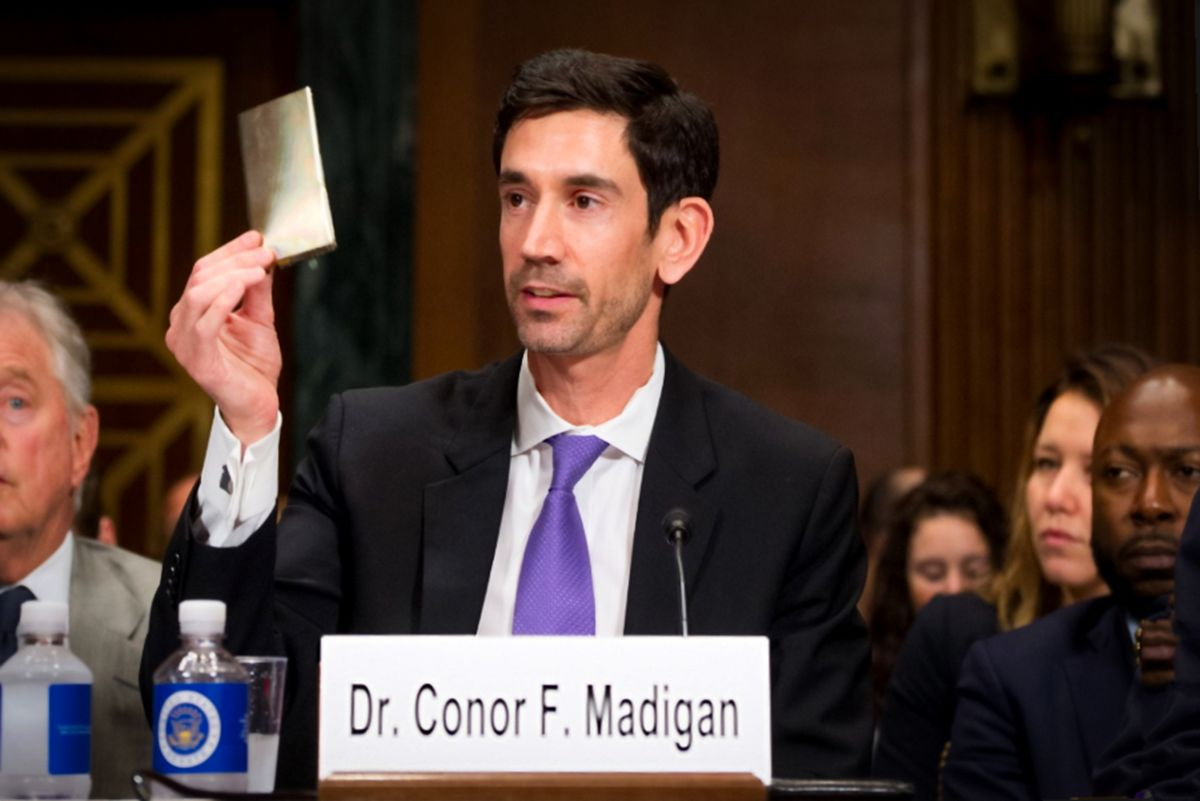 Kateeva President & COO, Dr. Conor Madigan, Addresses Senate Judiciary Committee Hearing to Honor World Intellectual Property Day