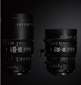 18-35mm T2 and 50-100mm T2 High-Speed Zoom Cine Lenses