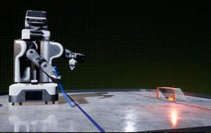NVIDIA Isaac robot simulator