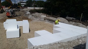 Easy to install, ACH Foam's EPS Geofoam blocks are renowned for their high-compressive strength, which is enhanced by the company's great preconstruction services.
