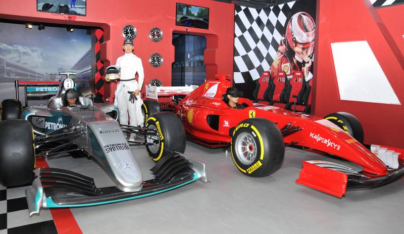 New Virtual Reality F1 Experience At Madame Tussauds Singapore