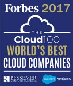 Insidesales.com named to the second annual Forbes 2017 Cloud 100