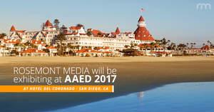 Rosemont Media to Attend the 2017 AAED Interdisciplinary Summit