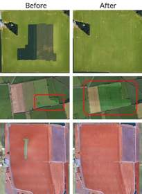 DroneDeploy Maps - Before and After